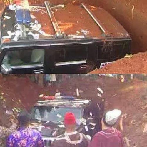 دفن عجیب مادری توسط فرزند میلیاردر خود! +عکس