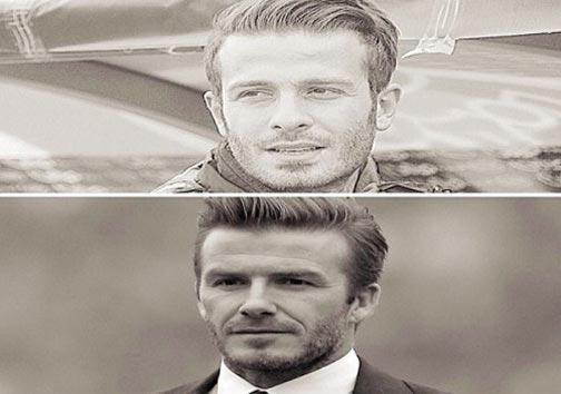 مقایسه دیوید بکهام با افشین +عکس