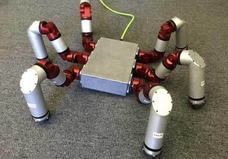 ربات ۶ پا مخصوص عملیات نجات +عکس