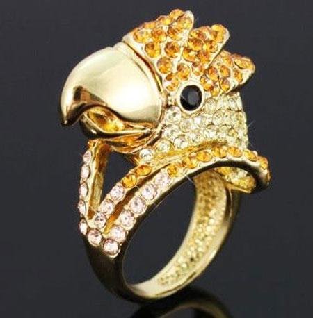 انواع مدل های جدید انگشتر جواهر 2015