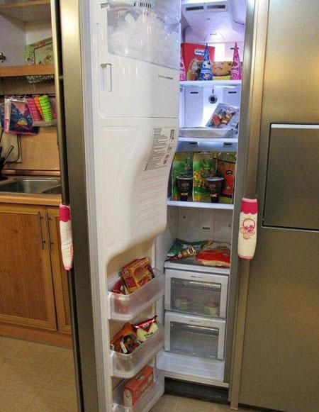 نمونه هایی زیبا از تزیینات یخچال عروس 2015