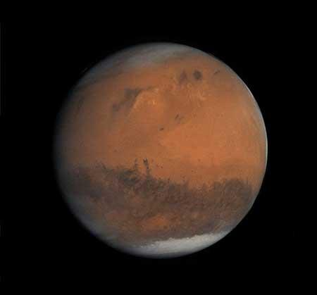 کشف جعبه ای مرموز در سیاره سرخ +عکس