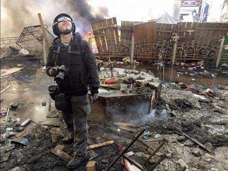 عکاسان خبری که در سال 2014 به قتل رسیدند