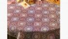 الگوی مناسب برای رومیزی گرد بزرگ
