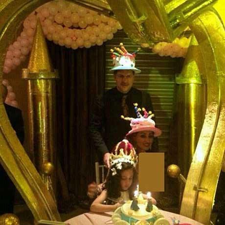 جشن تولد باشکوه دختر علی دایی +عکس