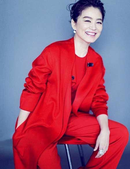 زیبایی خاص بازیگر زن چینی در سن 60 سالگی +عکس