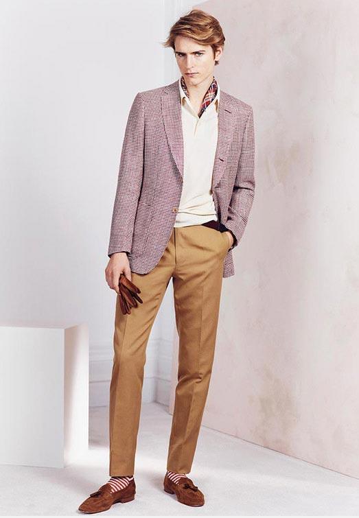 انواع مدل های جدید لباس مردانه برند dunhill بهار 2015
