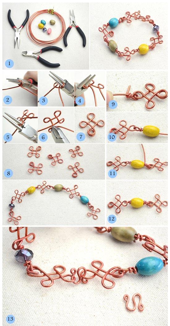 نحوه ساخت دستبند
