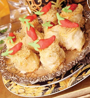 طرز تهیه باقلوای چیلی