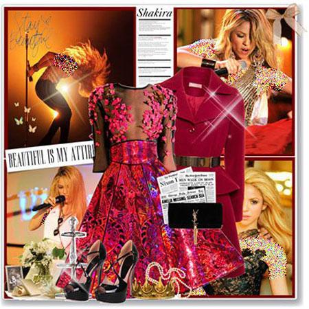 جدیدترین ست لباس به رنگ سال 2015 به سبک ستارگان هالیوودی