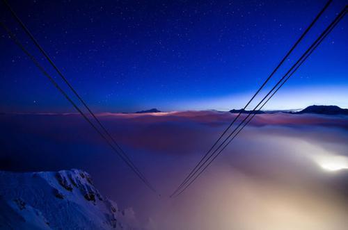 عکس های هتلی عجیب در ارتفاع 9،000 فوتی در کوه های آلپ فرانسه