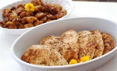 نحوه پخت مرغ سرخ شده با لیمو عمانی