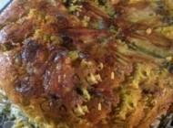 طرز تهیه ته چین بال مرغ با باقلا پلو