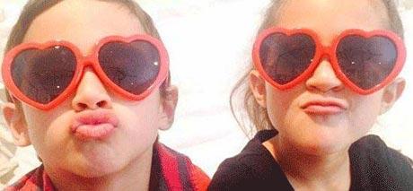 ستارگان مشهور هالیوودی روز ولنتاین را چطور گذراندند؟ +عکس