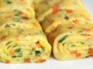 طرز تهیه رولت تخم مرغ، غذای کُره ای فوقِ سریع