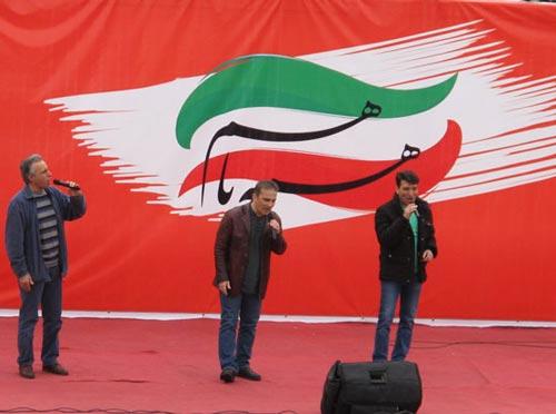عموهای فیتیلهای در راهپیمایی ۲۲ بهمن +عکس