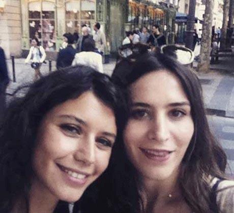عکس های سلفی  جالب بازیگر زن معروف ترکیه ای