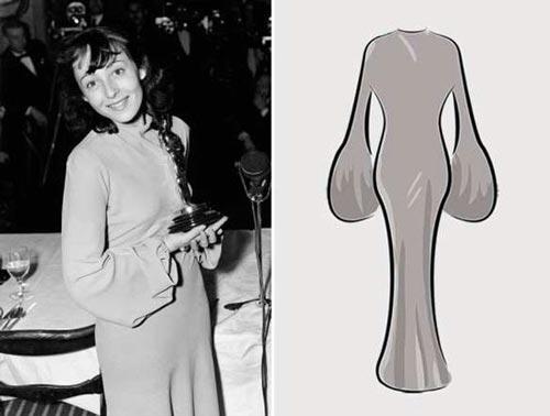 مدل لباس زنان برنده جایزه اسکار از ابتدا تاکنون  عکس