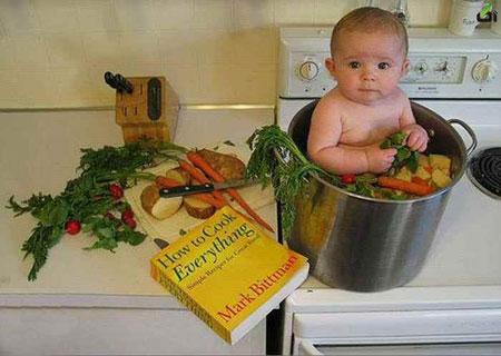 جدیدترین عکس های خنده دار و بامزه کودکان