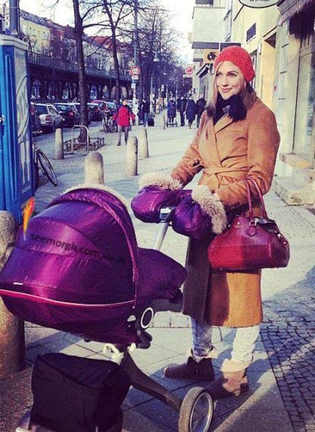 سری جدید عکس های بازیگر زن مشهور ترکیه ای