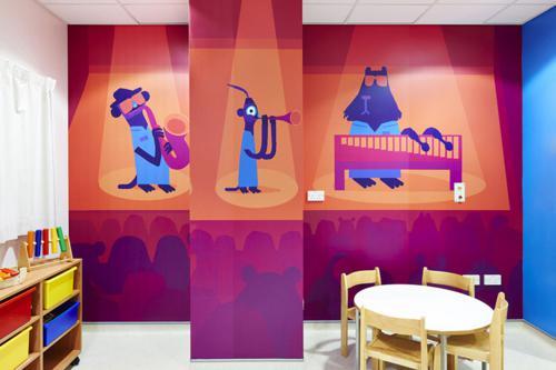 عکس های جالب بیمارستان ویژه کودکان