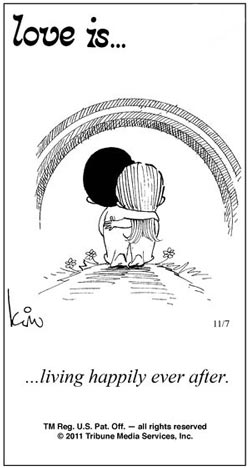 عشق یعنی...  که هر روزت ولنتاین باشه.