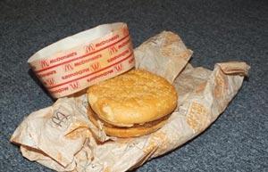 قدیمی ترین و پیرترین همبرگر دنیا را ببینید! +عکس