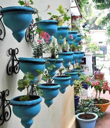 بالکن کوچک خانه خود را زیبا کنید +عکس
