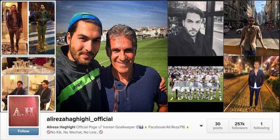 ورزشکاران محبوب ایرانی در اینستاگرام