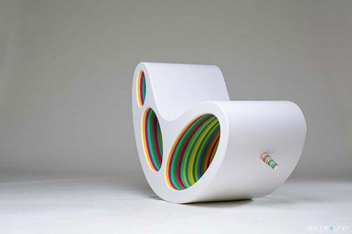 طرح خلاقانه؛ صندلی دو جهته +عکس