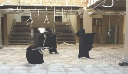آموزش زنان گروه تروریستی داعشی +عکس