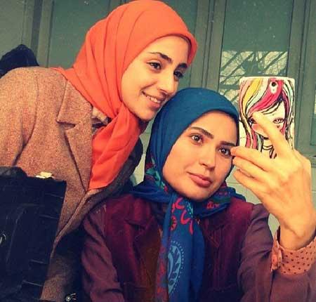 عکس های جالب شیوا طاهری بازیگر نقش دنیا در سریال گذر از رنج ها