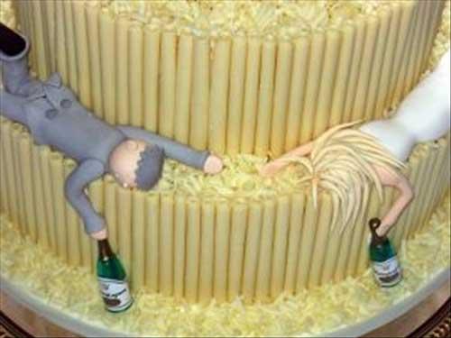 بدترین و زشت ترین کیک های تولد و عروسی +عکس