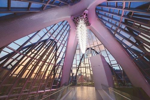 عکس های جالب ساختمان لوتوس در شهر ووجین چین