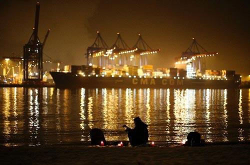 عظیمترین کشتی کانتینر بر جهان +عکس