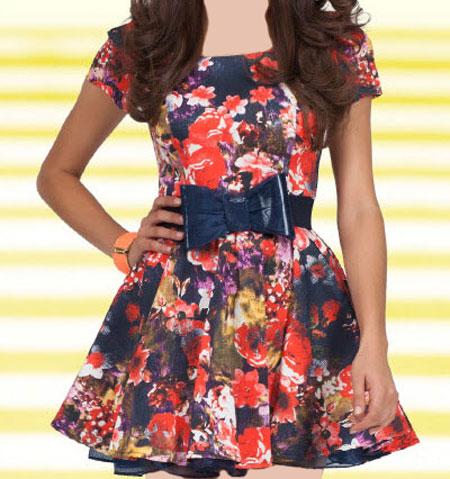 انواع مدل های جدید لباس کوتاه دخترانه برند ترک Green Country2016-2017+ دانلود عکس لباس کوتاه دخترانه1395