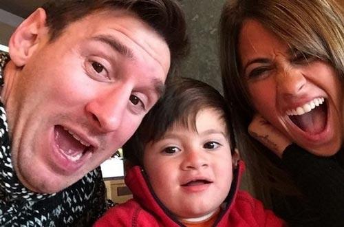 سلفی جالب خانوادگی لیونل مسی +عکس