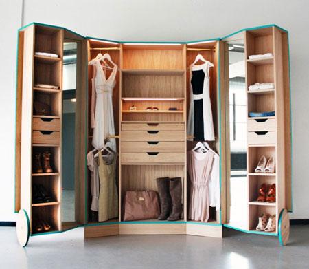 انواع مدل های جدید دکوراسیون کمد لباسی