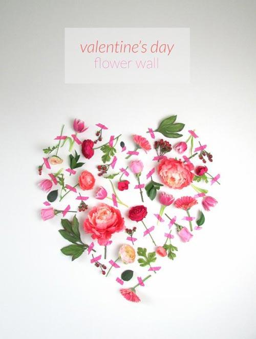 نحوه تزیین دیوار مخصوص روز ولنتاین +عکس