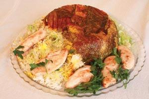 نحوه پخت ته چین عربی