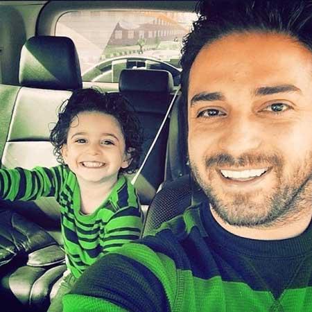 تصاویر خوانندگان محبوب ایرانی با کودکانشان