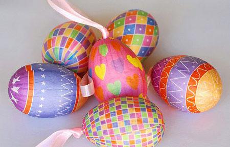 تزیینات جالب تخم مرغ هفت سین 97 |مدل تزیین تخم مرغ رنگی عید نوروز 1397