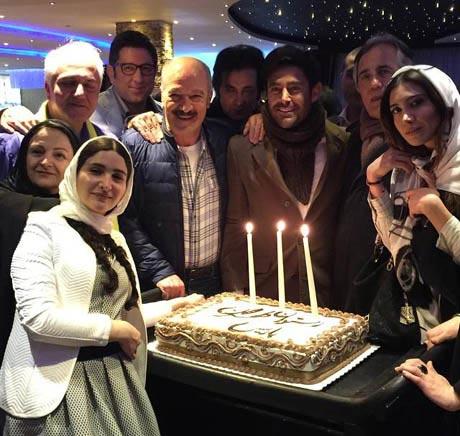 مهمانی گلزار و بازیگران معروف در مهمانی آخر سال +عکس