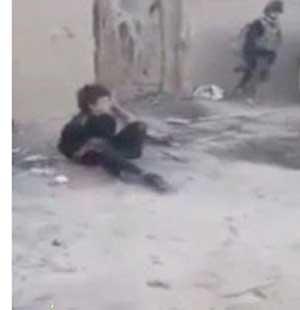 جنجال ويدئوي اعدام کودک ۱۱ساله عراقي