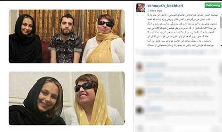 خانم بازیگر به انتشار فیلم غیراخلاقی تهدید شد! +عکس