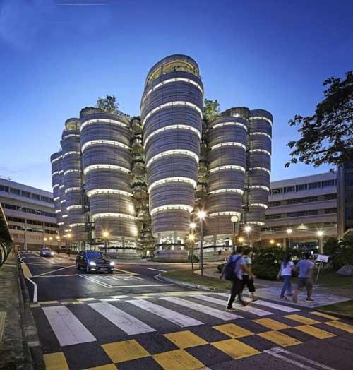 عکس های جالب معماری ساختمان تلسکوپی