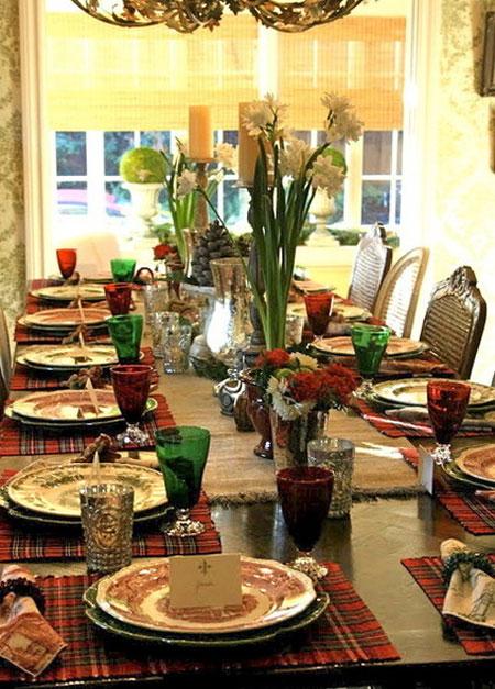 مدل چیدمان جالب میز غذاخوری تحسین برانگیز