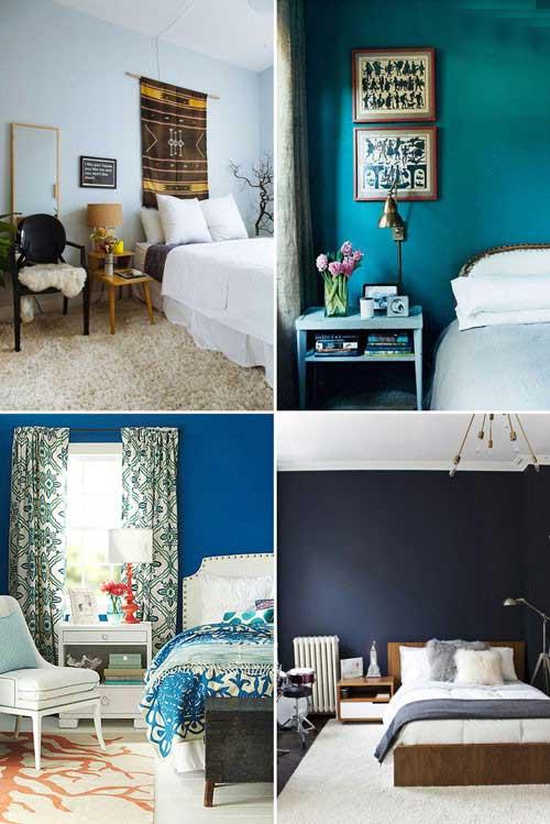 روحیه بخش ترین اتاق خواب ها به کمک این سه رنگ +عکس