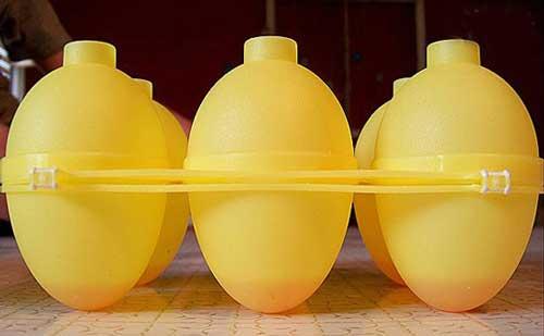 تخم مرغِ ژلهای و رنگین کمانی -آموزش تصویری