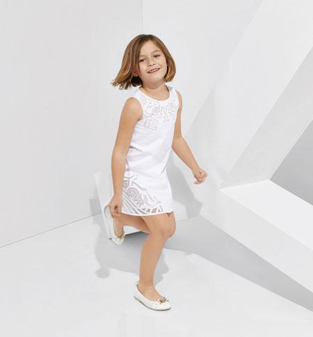 جدیدترین مدل های لباس کودکانه ورساچه برای بهار 2015